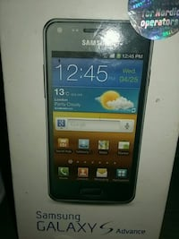 SAMSUNG GALAXY ADVANCE. 6252 km