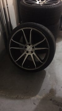 Staggered 20 inch rims Little Rock, 72211