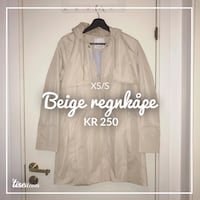beige button-up langermet skjorte Oslo, 0175