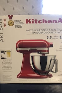 Brand New Kitchen Aid Mini Mixer Ottawa, K2B 7E6