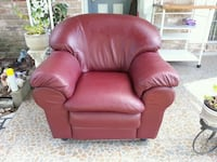 red leather recliner sofa chair Sugar Land, 77498