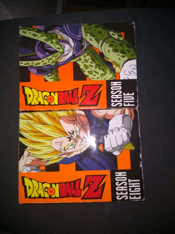 Dragon Ball Z season 5 & 9 (all discs included)