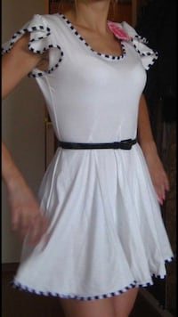 New white dress 36 size