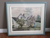 Framed Painting Pointe-Claire