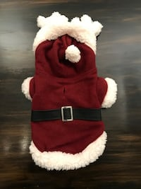 Holiday Reversible Santa and Reindeer Suit, Small / Dog clothes Mississauga, L5A 3B2