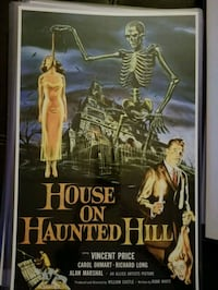 House on Haunted Hill Poster  Bunker Hill, 25413