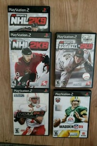 ASsortment of PS2 games  Charles Town, 25414