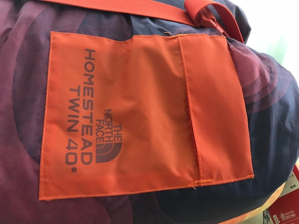 6ca37496bcfa Used North face homestead twin sleeping bag. for sale in 福斯特城 ...