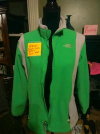 green and black zip-up jacket Williamston, 29697