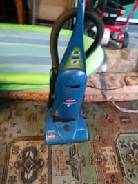 blue and black Bissell upright vacuum cleaner Desert Hot Springs, 92240