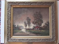 Frederick S. Burgy Original Oil Painting  Catharpin