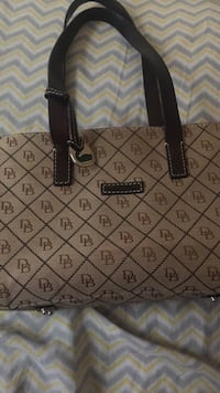 Brown Dooney and Bourke bag