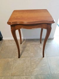 Beautiful antique side table refinished top Victoria, V9A 6A6