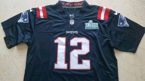 Camiseta Tom Brady Patriots XL