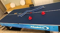 blue and white air hockey table Reisterstown, 21136