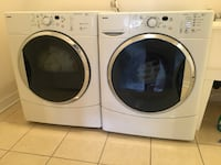 Kenmore Front Loader Washer & Dryer - Super Capacity Quiet Pak 4