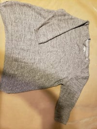 gray crew-neck sweater with half sleeves  Independence, 64056