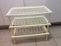 Shoes rack24 inch length,12 width and 21 inches hight 552 km