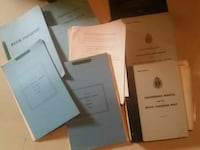 ROYAL CANADIAN NAVY POSTWAR training manuals