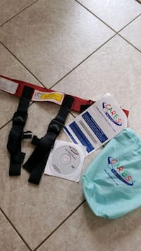 Air Safe Harness Airline Approved for children ove Sterling, 20165