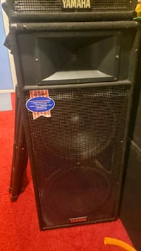 1 pair of Yamaha s215v PA speakers  Silver Spring, 20904