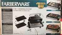 Farberware 3-in-1 cooking system box Clarksville, 37042
