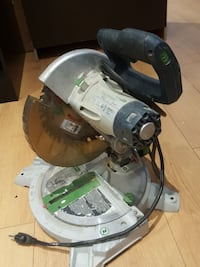 black and gray miter saw Montréal, H1H 4T6