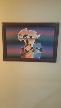 Africa Painting Bowie