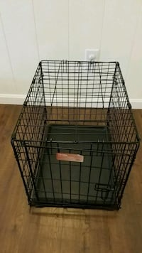 black metal folding dog crate Burke, 22015