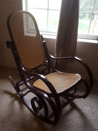 black and brown rolling armchair Prosser, 99350