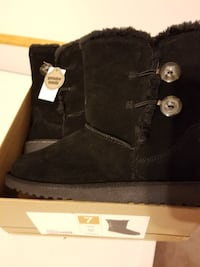pair of black UGG boots Mount Forest, N0G 2L1