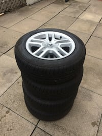 Brand New Pirelli P4's with rims Brampton, L6X 4C1