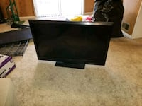 black flat screen TV with remote Silver Spring, 20910