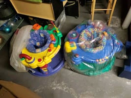 Child's activity jumper chairs