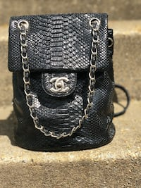 Chanel Python bag\Backpack  DO NOT ASK ME IF THIS IS AUTHENTIC.......for 75 please use your common sense.  Falls Church, 22043