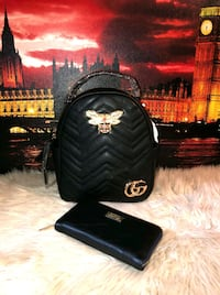 black and white Gucci backpack District Heights, 20747