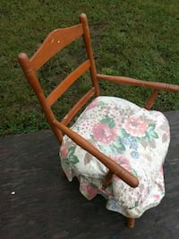 brown wooden framed floral padded armchair Lewisburg, 37091