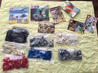 Over a 1000 LEGO bricks plus 7 instruction manuals Londres, N6G
