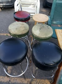 four black-and-brown stools Detroit, 48238