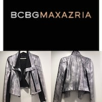 women's black and gray coat collage