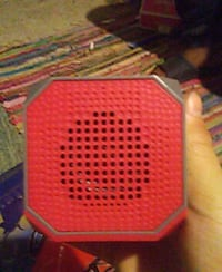 pink and grey portable Bluetooth speaker Johnson City, 13790