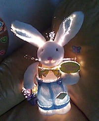 Electric Bunny turns 4 different colors 926 mi
