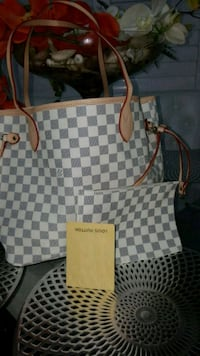 damier azur Louis Vuitton leather tote bag Mississauga, L5W 1P1