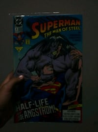 super man old comic