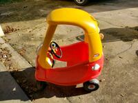 red and yellow Little Tikes cozy coupe Smyrna, 37167