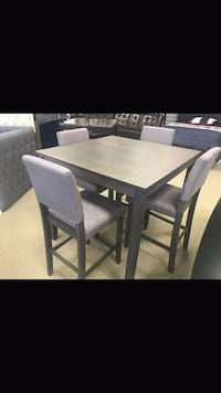 Grey 5PC Counter Height Dining Set! Houston, 77020