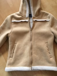 Brody fleece lined, zip jacket with hood, Ladies Small - $15 Mississauga