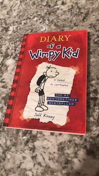 Diary of a Wimpy kid books by Jeff Kinney Edmonton, T5H 0Y8