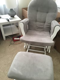 White and Grey Glider with Ottoman  Rockville, 20850
