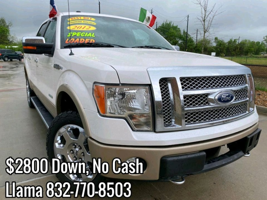 Photo Ford f150 Lariat Ecoboost 2012 $2800 DOWN PAYMENT